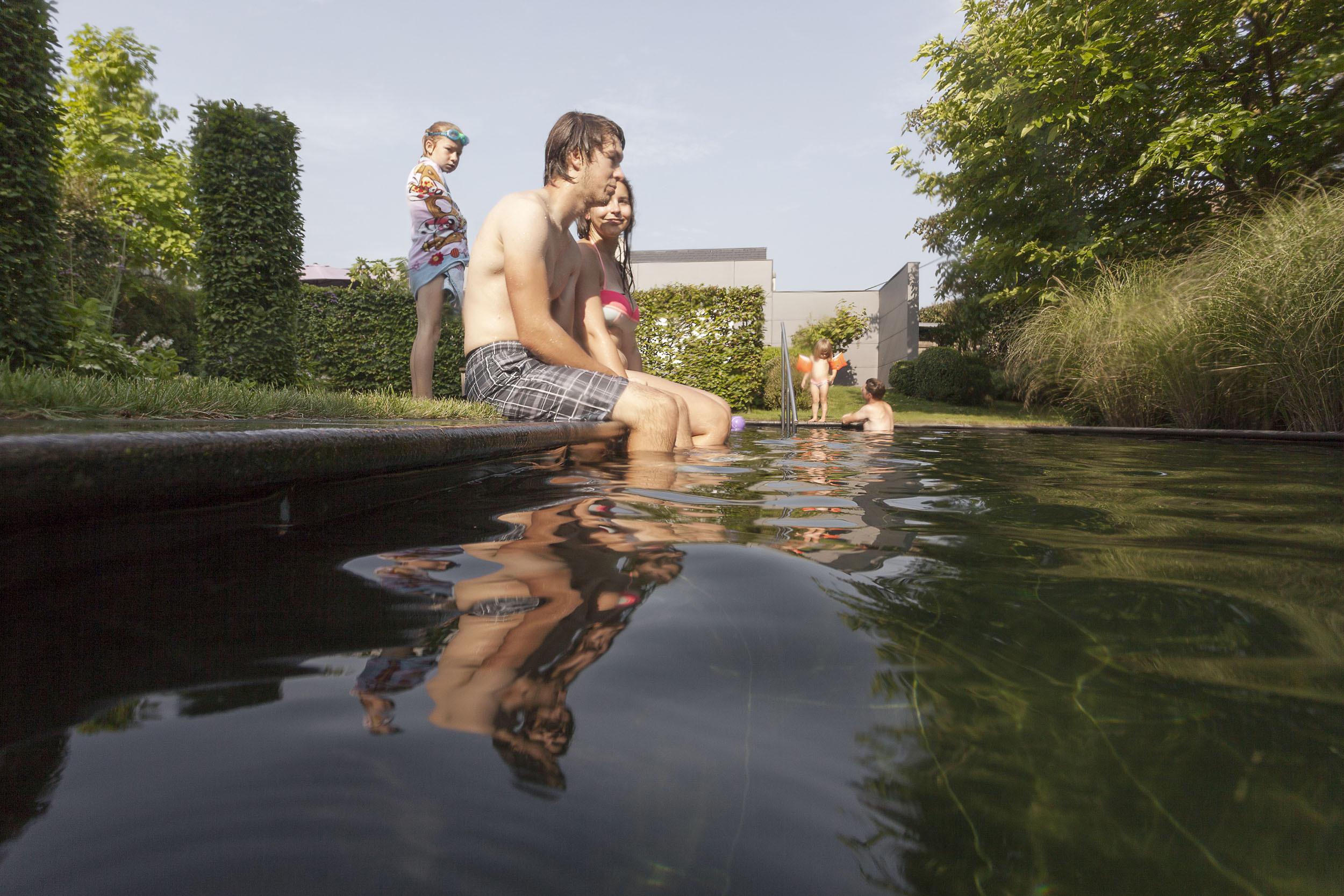 Hybride zwemvijvers